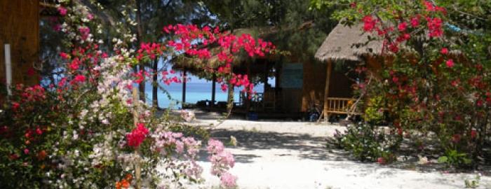 Green View Resort Koh Lipe:Sea View Bungalow Hot Water Shower