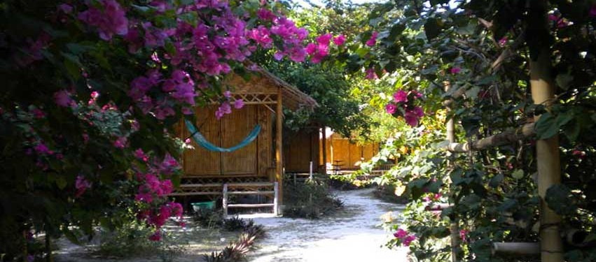 Green View Resort Koh Lipe:Garden View Deluxe Bungalow Hot Water Shower